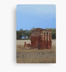 Wheatbelt Ruins Canvas Print
