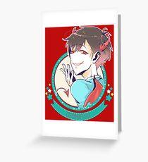 Osomatsu Matsuno Greeting Card