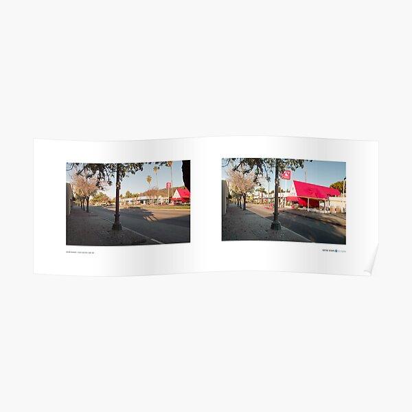 Colorado Boulevard + Mount Royal Drive, Eagle Rock, Los Angeles, California, USA...narrowed. Poster