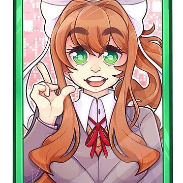 Monika's Phone by darkmagicswh