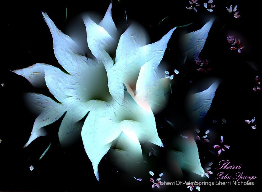 THE SPLENDOR OF A FLOWER! by SherriOfPalmSprings Sherri Nicholas-