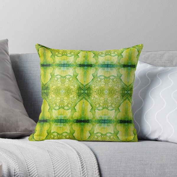 Arboretum Green Throw Pillow
