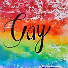 """Gay Watercolor """"big"""" by ElliottJames"""