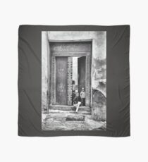 African Kids Playing - Stonetown Zanzibar 3609 Scarf
