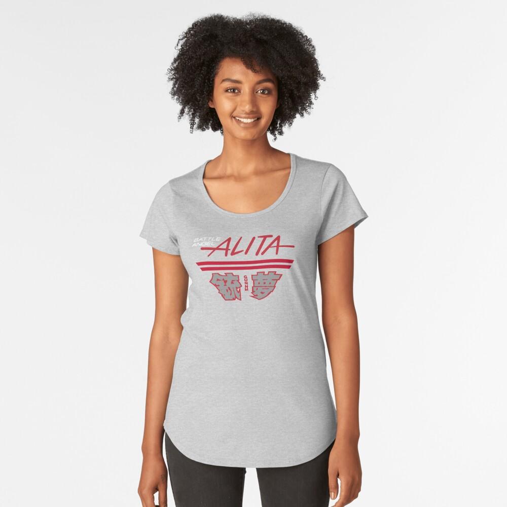 Battle Angel Alita/Gunnm Logo Premium Scoop T-Shirt