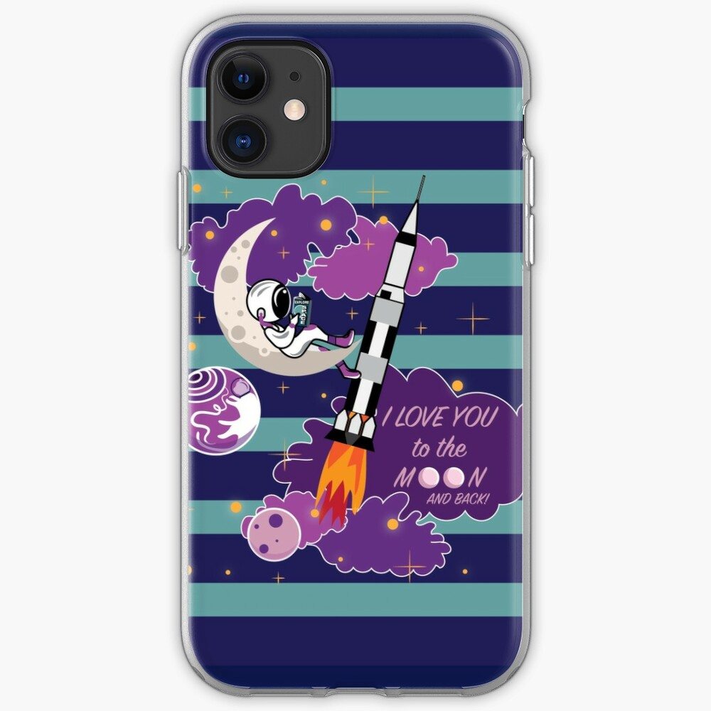 Dreaming of Landing on the Moon iPhone Case & Cover