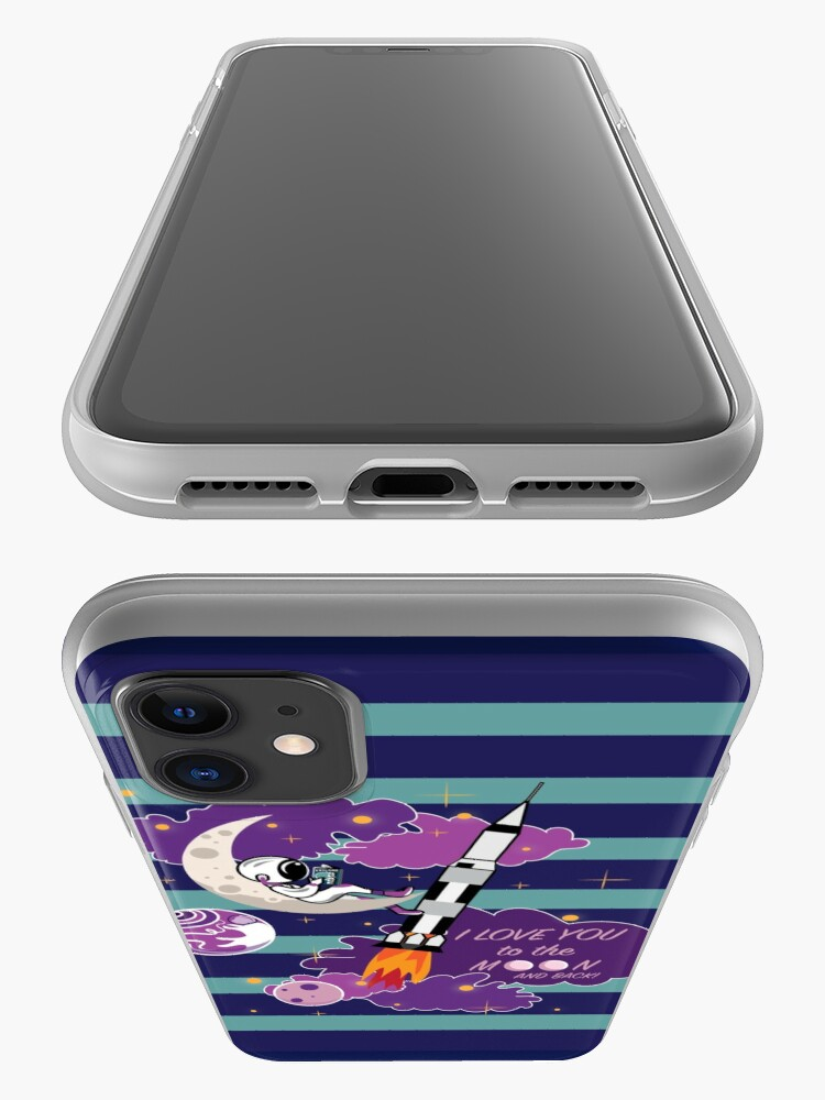 Alternate view of Dreaming of Landing on the Moon iPhone Case & Cover