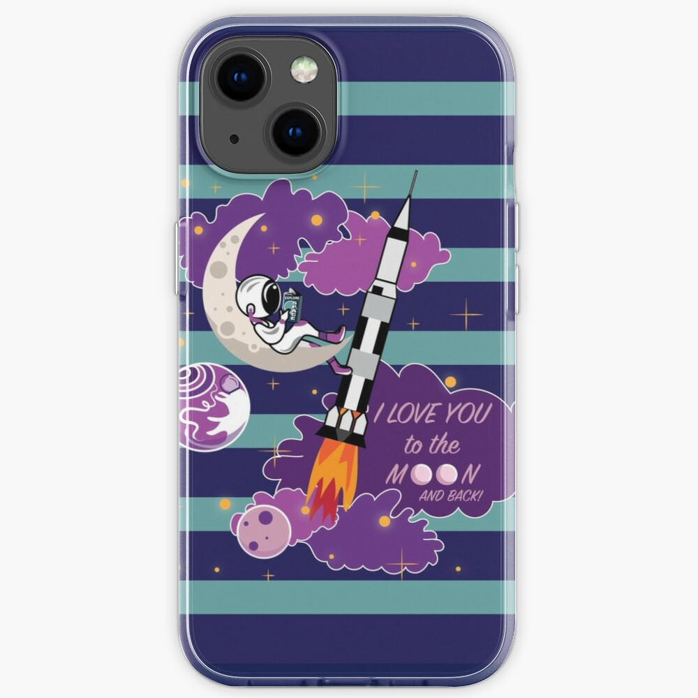 Dreaming of Landing on the Moon iPhone Case