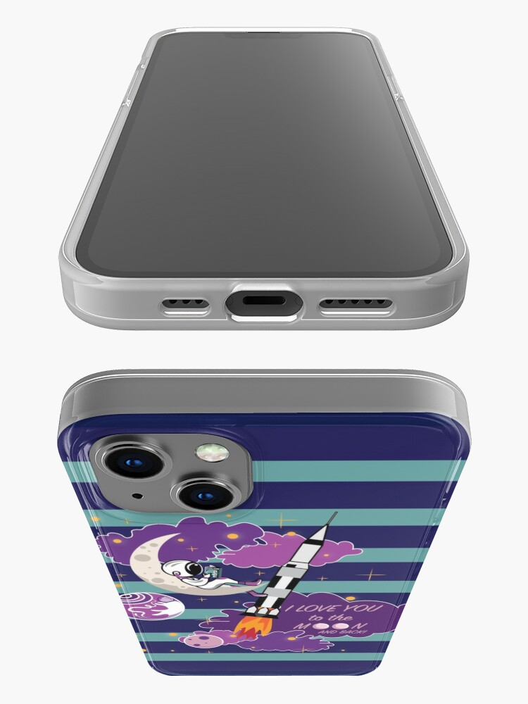 Alternate view of Dreaming of Landing on the Moon iPhone Case