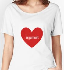 argument Women's Relaxed Fit T-Shirt