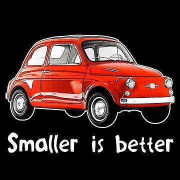 Smaller is Better by ApexFibers