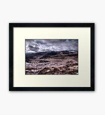 Deerrencollig Landscape Framed Print