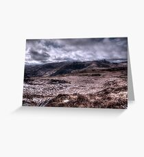 Deerrencollig Landscape Greeting Card