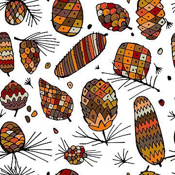 Cones pattern by Kudryashka