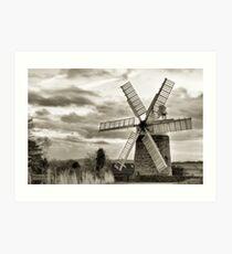 Heage Windmill: Derbyshire Art Print