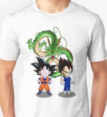 82ccb3867f2f Goku and Vegeta Slim Fit T-Shirt