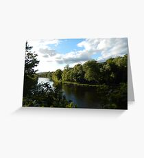 The Tweed at Melrose - late May Greeting Card