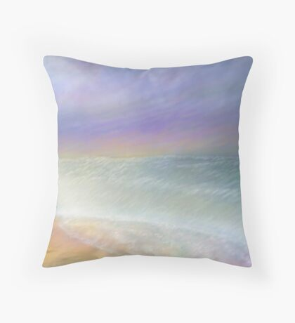 Ready to surf the vast beauty Throw Pillow