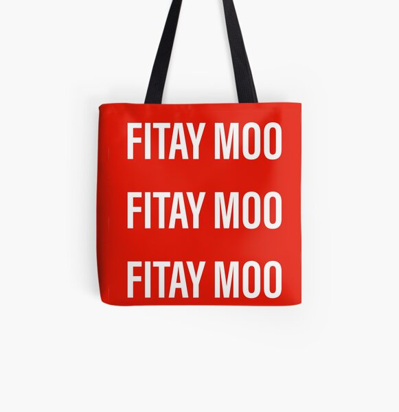 Fitay moo(facepalm) All Over Print Tote Bag