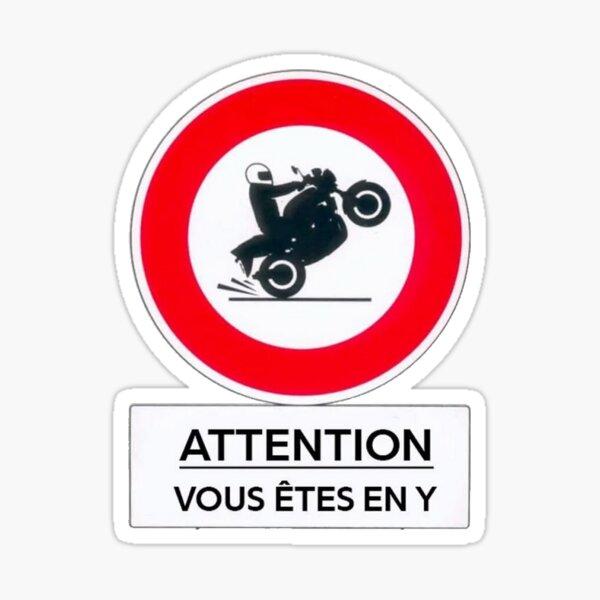 JUL en Y - Attention vous êtes en Y Sticker