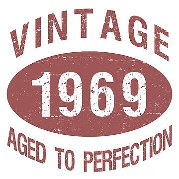 1969 Vintage Birthday by thepixelgarden