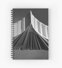 Playing Cards Domino - B&W Spiral Notebook