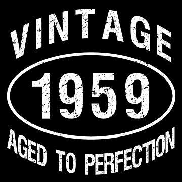 1959 Vintage Birthday by thepixelgarden