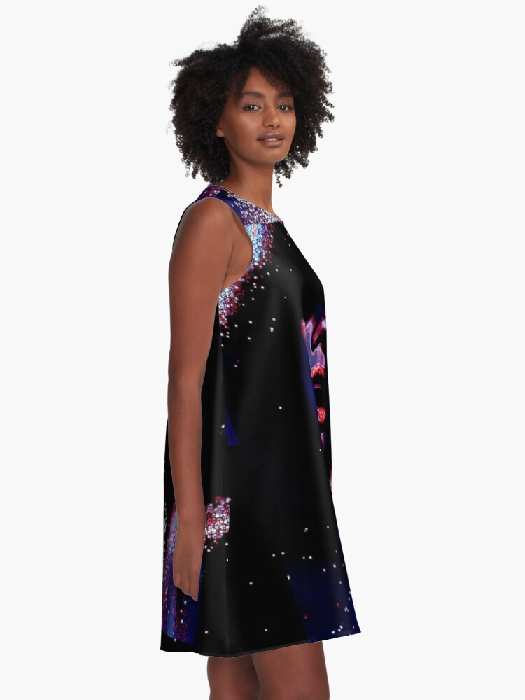 Alternate view of Blue A-Line Dress