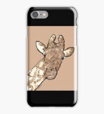 sd Giraffe 2L light iPhone Case/Skin