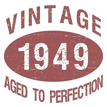 1949 Vintage Birthday by thepixelgarden