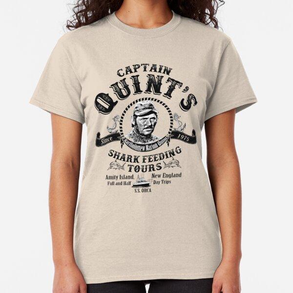 Quint's Shark Feeding Tours  Classic T-Shirt