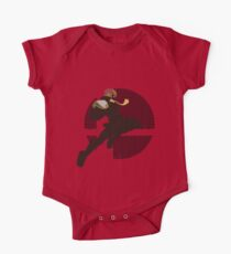 Captain Falcon (Smash 4, Knee of Justice) - Sunset Shores One Piece - Short Sleeve