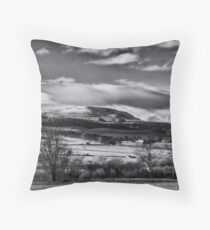Iced winter candy tops Throw Pillow