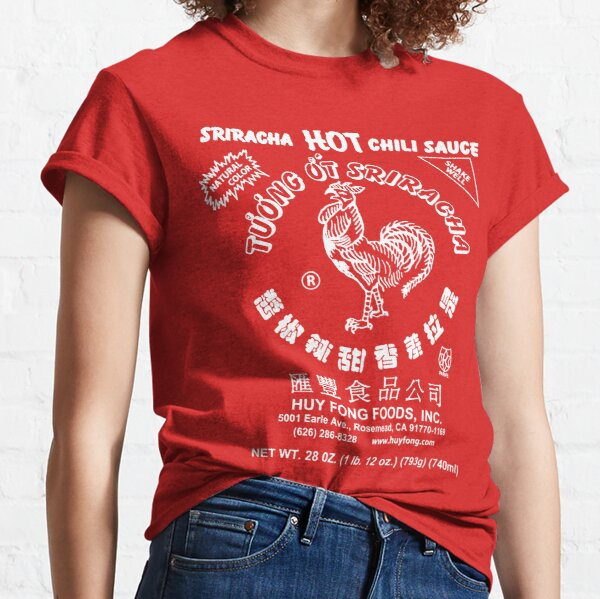 Spicy Rooster in white Classic T-Shirt