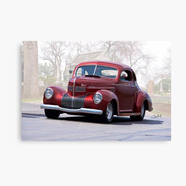 1939 Chrysler Royal Coupe II Canvas Print