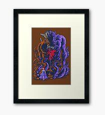 Demon and Child Framed Print