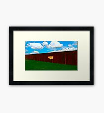 Good Economy Framed Print