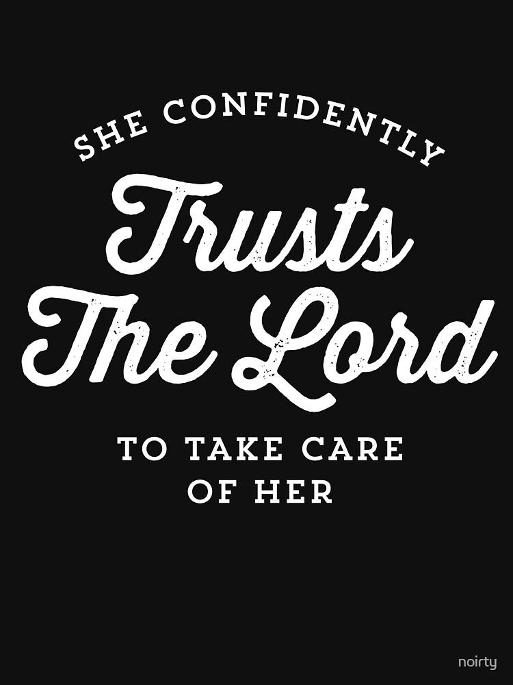 Bible Verse Psalm 112:7 T Shirt by noirty