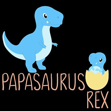 Papasaurus Babysaurus Daddy by FutureInTheAir