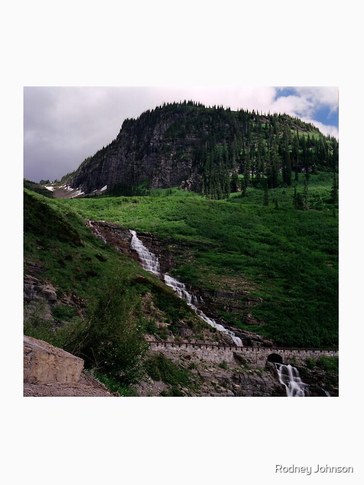 Haystack Falls, Glacier N.P., Montana by rodneyj46