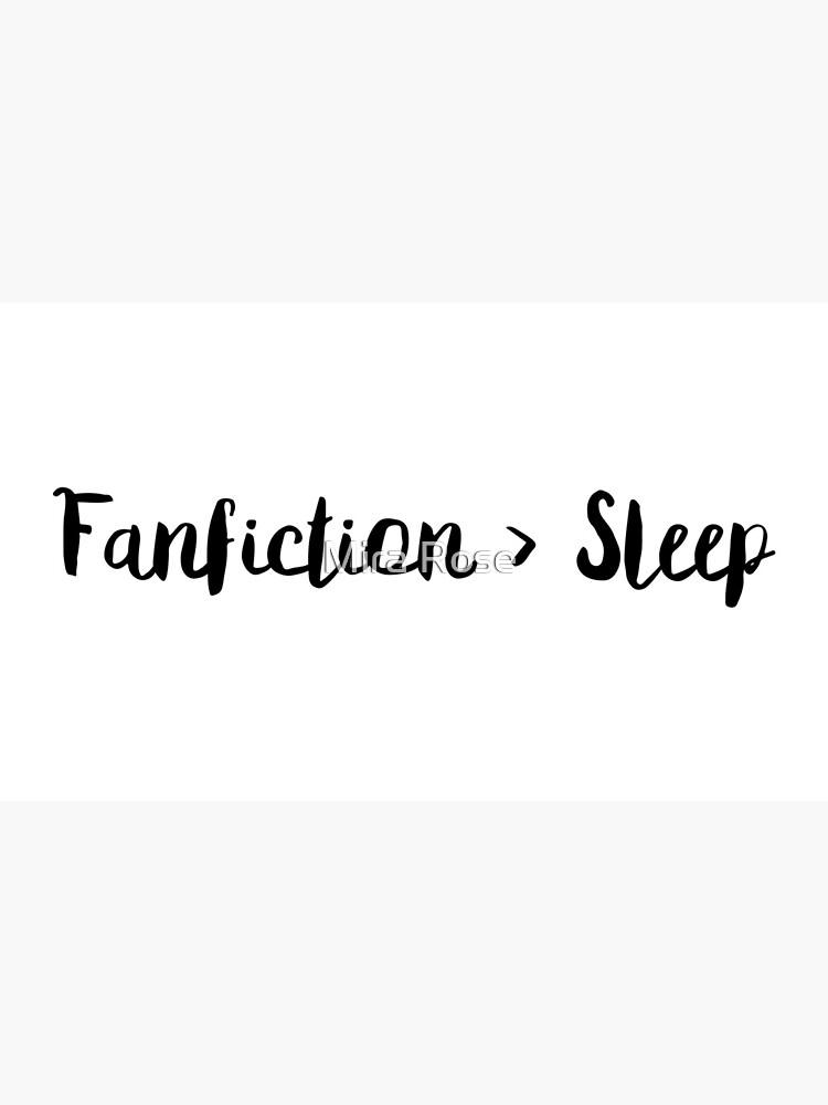 Fanfiction> Schlaf von EleanorRoseYT