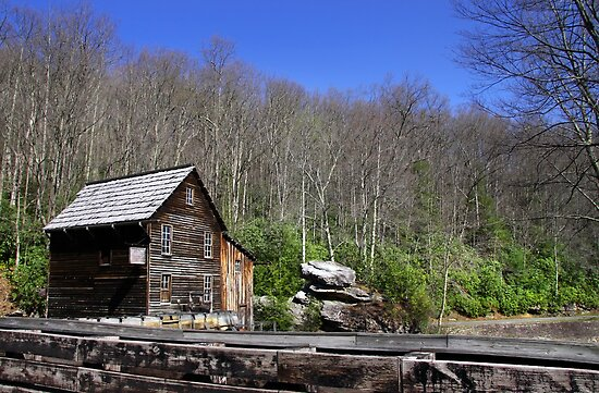 Glade Creek Grist Mill by snehit