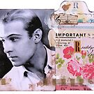 Rudolph Valentino Collage by collageDP
