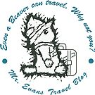 Mr.Evans | Even a beaver can travel  by jogogou