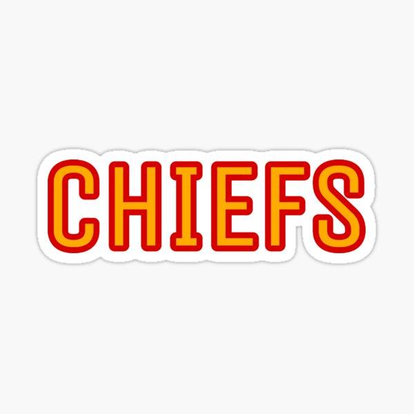 Chiefs  Sticker