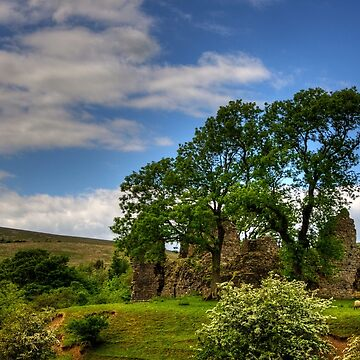 Pendragon Castle View by tomg