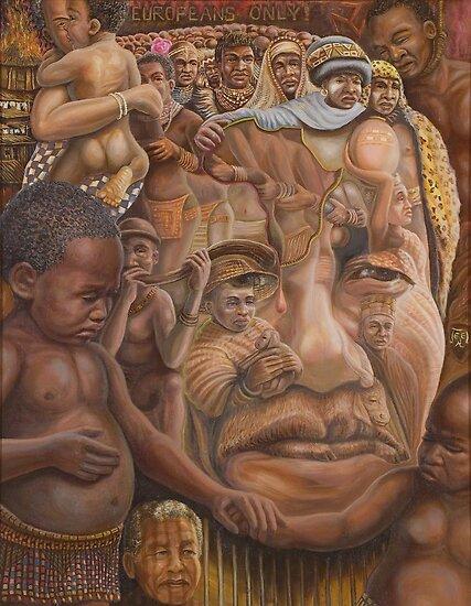 Nelson Mandela ''The shepherd and the shaman''.   by Jerel Baker
