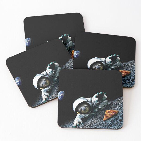 Slothstronaut Coasters (Set of 4)