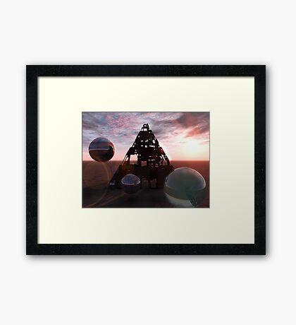 RETURNING Framed Print