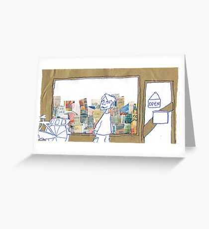 The Bookstore Greeting Card